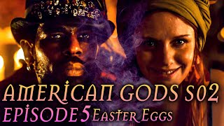 "American Gods Season 2 Episode 5 Breakdown + Easter Eggs ""The Ways of the Dead"""