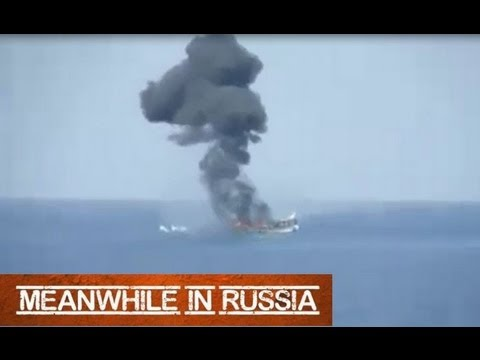Russian Navy vs. Somali Pirates (Real Combat)