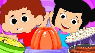 Jelly On A Plate Nursery Rhymes | Baby Songs For Children & Kids Rhyme