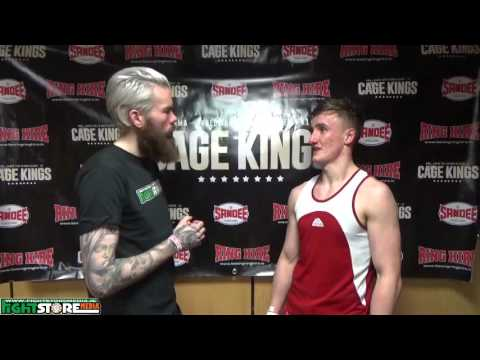 John Mitchell post fight interview at Cage Kings Dublin
