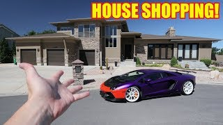 Searching for my Dream House ft. BUYING a C8 Corvette?!