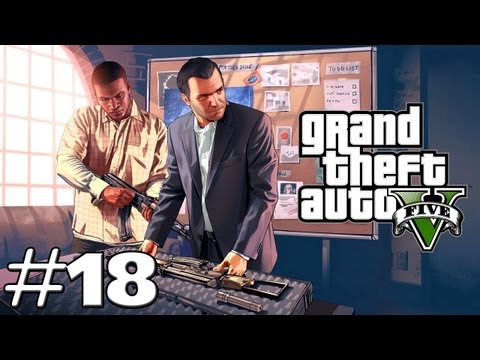 Let's Play GTA 5 ( Grand Theft Auto V ) #018 - Trevor et Michael se rencontre !
