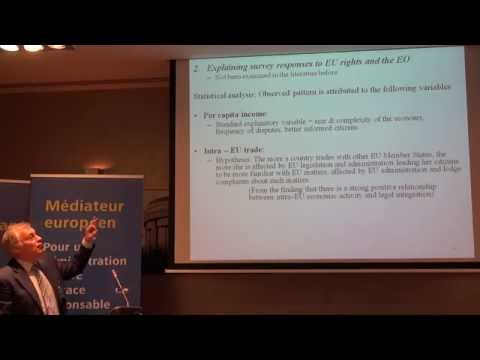 3 - Session 3 - Democracy and accountability in the EU: the role of the European Ombudsman