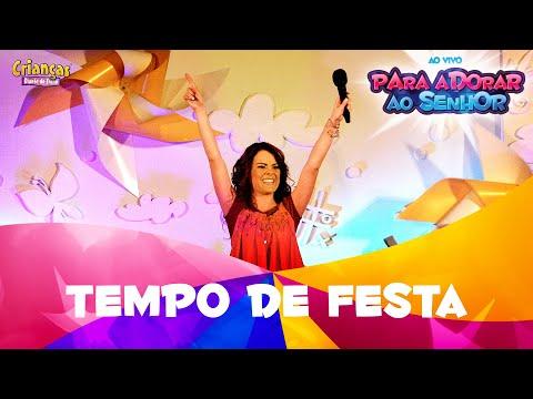 Crianças Diante Do Trono - Tempo De Festa - Dvd Para Adorar Ao Senhor video