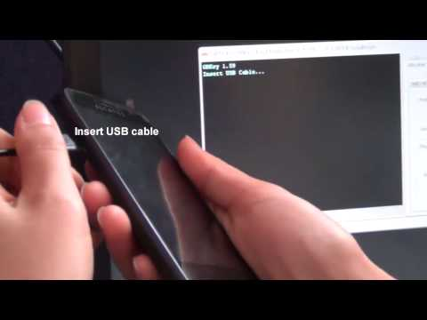 Alcatel Evolve OT-5020T Direct Unlock USB with GBKey