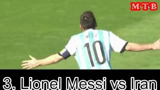 Lionel Messi ● Top 10 goals ● Argentina ● HD