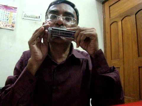 harmonica tutorials for old bollywood song Hai apna dil to awara...