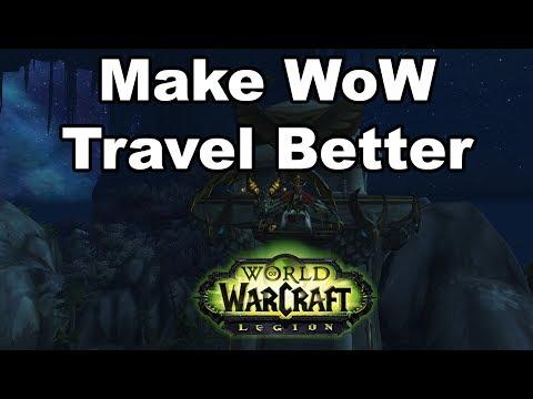 Make World of Warcraft Travel Better (short ideas)
