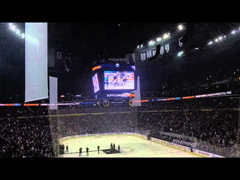 Dominik Hasek induction to Sabres Hall of Fame 2014-03-29 Buffalo, NY