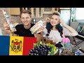 Пробуем Молдавскую Еду! Real Moldovan Food!