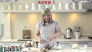Marbled Chocolate Cupcakes with Peppermint Buttercream with Lisa Marley and Dr. Oetker