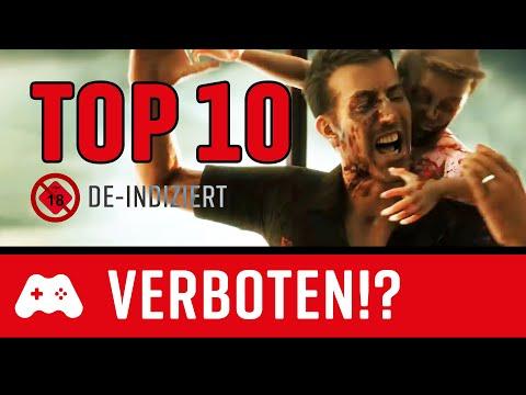 TOP 10 ► Verbotene Spiele, die man wieder kaufen kann: De-indiziert