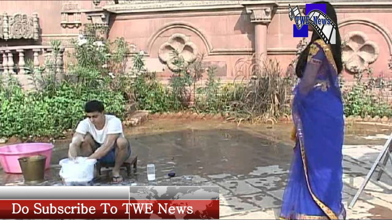 Saras romancing with kumud while washing clothes saraswatichandra on location youtube - Wrong wash clothesdegrees ...