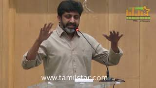 Director Mohan Raja Press Meet Regards Velaikkaran Release