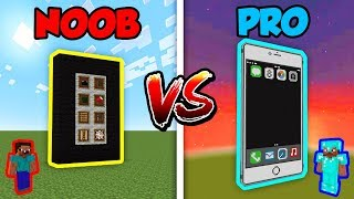 Minecraft NOOB vs. PRO: IPHONE in Minecraft!