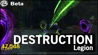 Legion Destruction Warlock Complete Preview