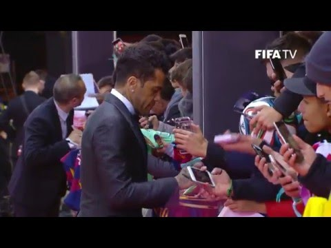 FULL REPLAY: RED CARPET at FIFA Ballon d'Or 2015