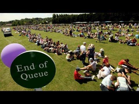 Are Wimbledon tennis fans observing queue etiquette guidelines?