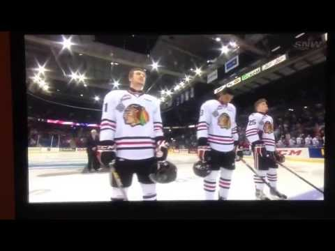 2013 Memorial Cup American Anthem Blunder