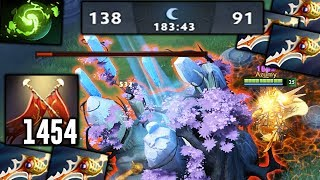 LC +1454 Ultimate Damage [184 min EPIC THRONE DEFENCE] Dota 2