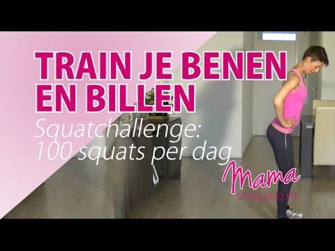 Strakke benen en mooie billen dmv de Squat Challenge: 100 squats per dag. Image 1