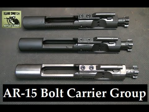 How to I.D. AR 15. M16 & Mil Spec Bolt Carrier Groups