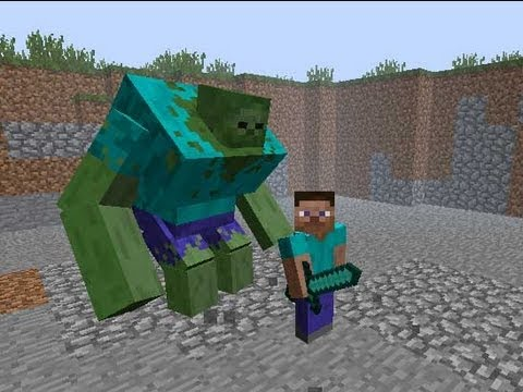 Minecraft Mod Showcase MUTANT CREATURES MOD! - Mutant Zombies, Creepers & Mi
