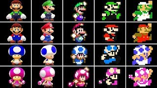 Super Mario Maker 2 - All Playable Characters