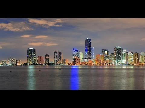 Miami Skyline , downtown Miami  FL , Florida , South Beach , Art Deco , Little Havana district tour