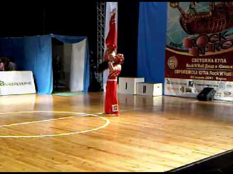 Alina Levchenko & Aleksandr Ligostov - Europe Cup Varna 2011