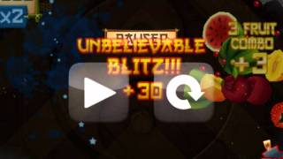Fruit Ninja world record over 100.000 Points! No Fake