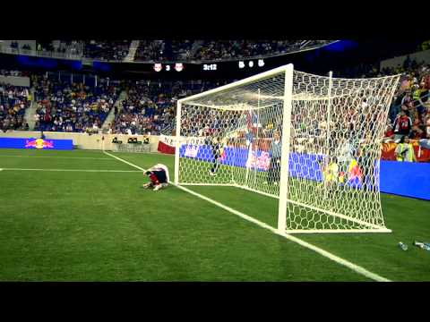 Red Bull Arena grand opening - NY Red Bulls 3 vs Santos FC 1 Video