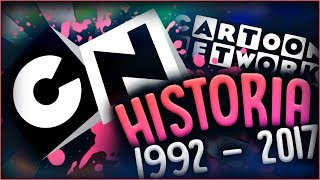 HISTORIA CARTOON NETWORK (1992-2017)