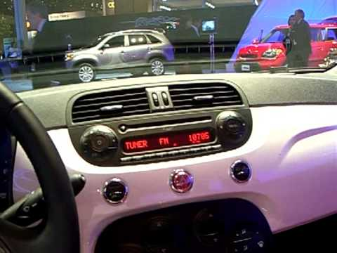 Is America ready to fit inside the mini Fiat 500 :) ? CES 2010 #5