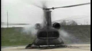 Chinook crash test
