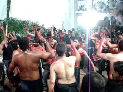 Hyderabad 10th Moharram(ali Lodge) Irani Matam 2009-2010 video