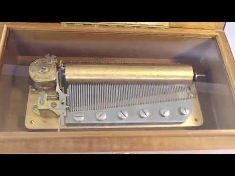 Vintage Reuge Music Box 72 Key
