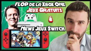 Microsoft reconnait le FLOP XBOX ONE avant la Scarlett, Jeux GRATUITS & News Switch ( Hat in Time )