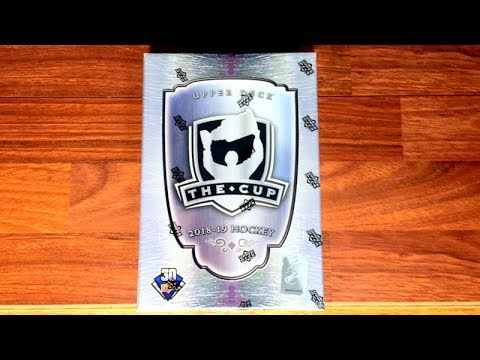 18/19 Upper Deck The Cup Hockey Box Break - 5 Hits