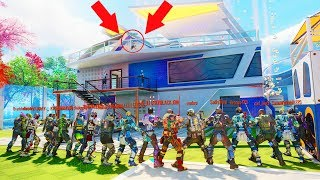 "I WAS HIDING FROM ALL 17 OF THEM ON TOP OF THE NUKETOWN HOUSE!?!?! ""FINDING NOGAME"" EP.93"