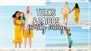 Travel Vlog to Turks and Caicos | Family Vacation! NitraaBtv