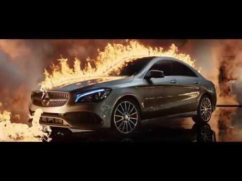 Mercedes-Benz сжёг новый автомобиль для рекламы Mercedes Benz original
