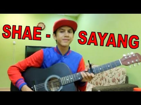 Afie Khalid - Sayang By Shae (akustik) video