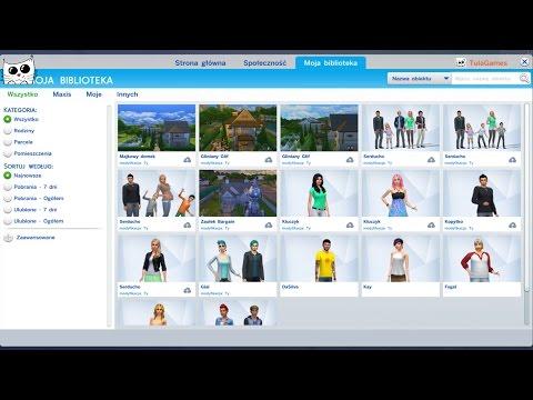 The Sims 4 Pl -  Poradnik Jak Pobrać Rodziny,domy I Pomieszczenia Z Galerii :)