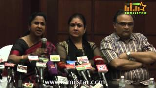 Sarathkumar Team's Press Meet On Nadigar Sangam Issue Part 2