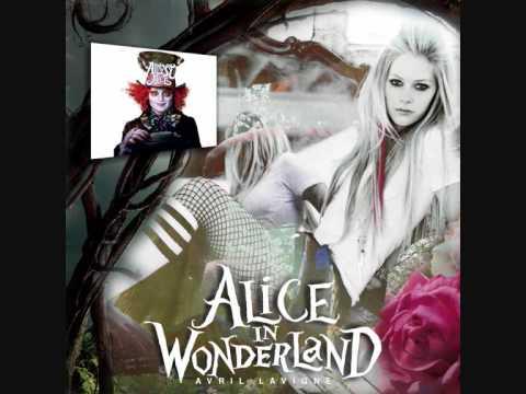 """Avril Lavigne - """"Alice"""" from Tim Burton's """"Alice In Wonderland"""" *NEW SONG"""