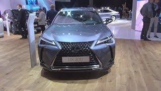 Lexus UX 200 Luxury 2.0 170 hp CVT (2019) Exterior and Interior