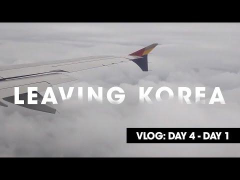 Leaving Korea | VLOG: Day 4 - 1 | Seoul long, Korea!