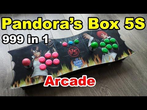Pandora's Box 5S Plus 999 in 1 Arcade SuperGun Console