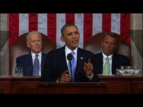 State of the Union: Obama challenges Congress on inequality